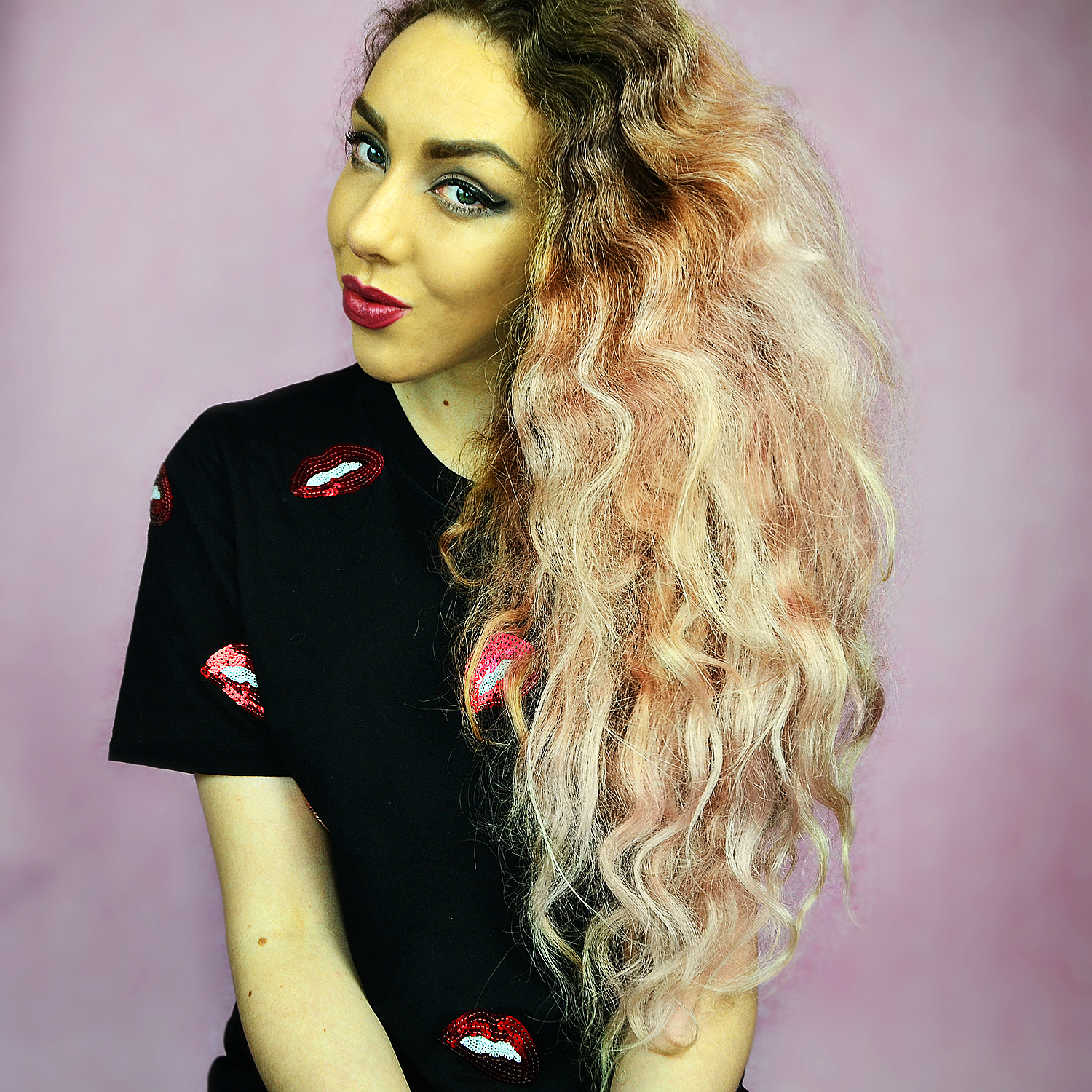 Tales Of A Long Pink Haired Mermaid - Hair Advice, Dying, Maintainence, Curly Hair Care, // Lifestyle & Beauty Blogger Stephi LaReine