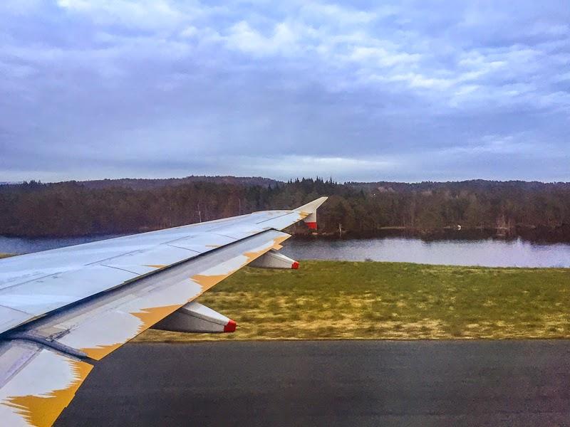 bergen airport runway