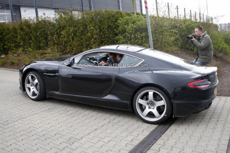 2014 aston martin db9 successor prototype spy photos. Cars Review. Best American Auto & Cars Review