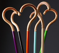 candy coloured canes