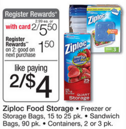Ziploc coupon 2018