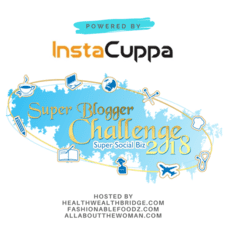 #SuperBloggerChallenge2018 #Instacuppa