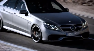 2014 Mercedes E63 AMG 4MATIC in Action