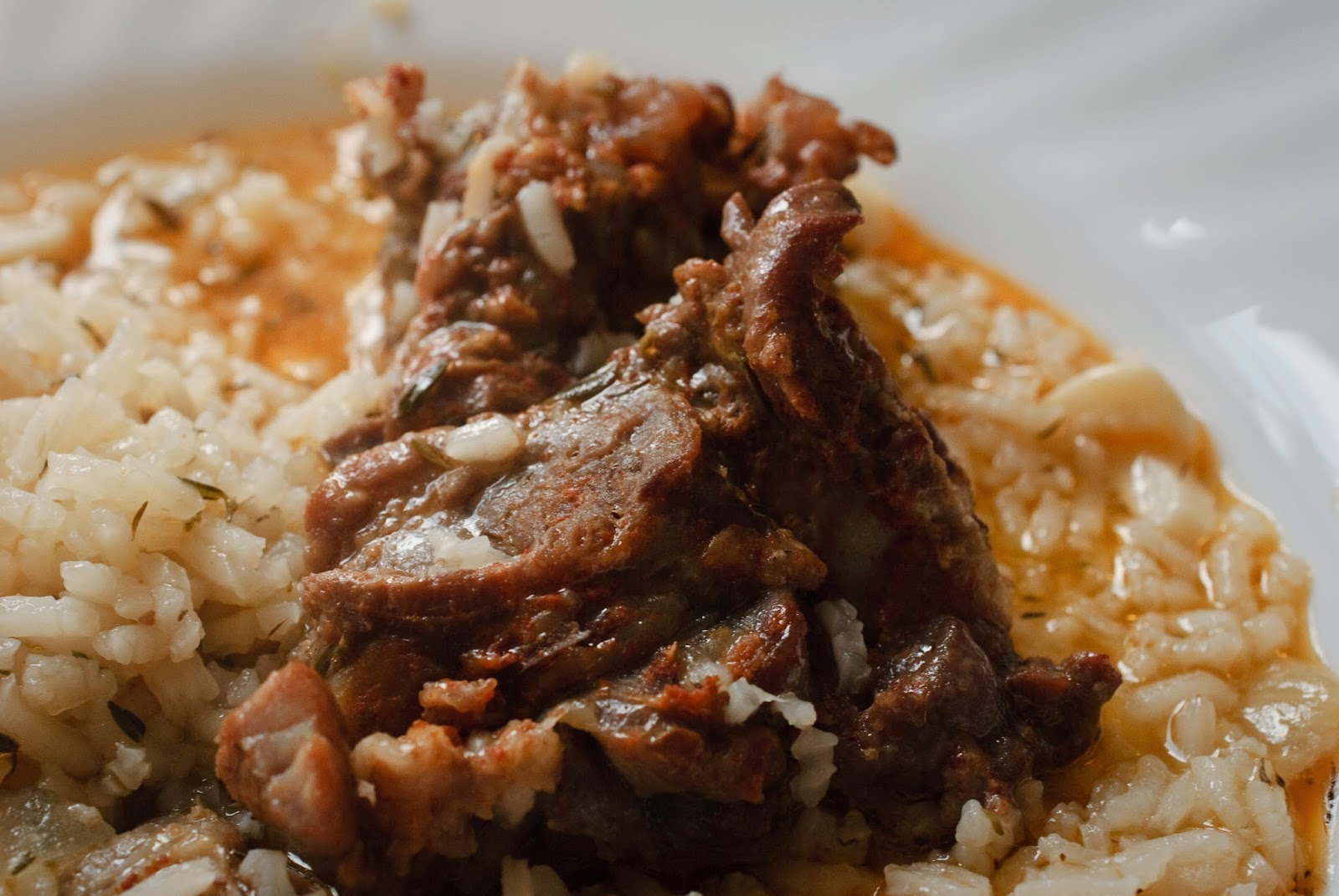 Arroz con costilla; Rice with ribs