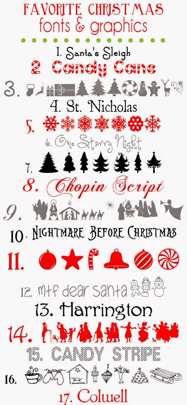 Lyns Needlecase Free Christmas Fonts