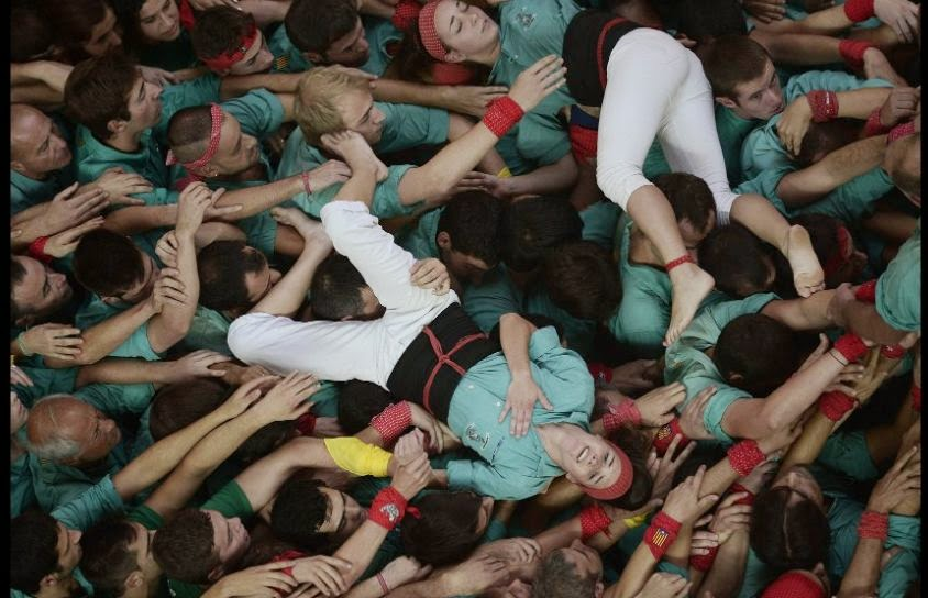 XXV Human Towers of Tarragona in Pictures | Catalonia's Human Towers