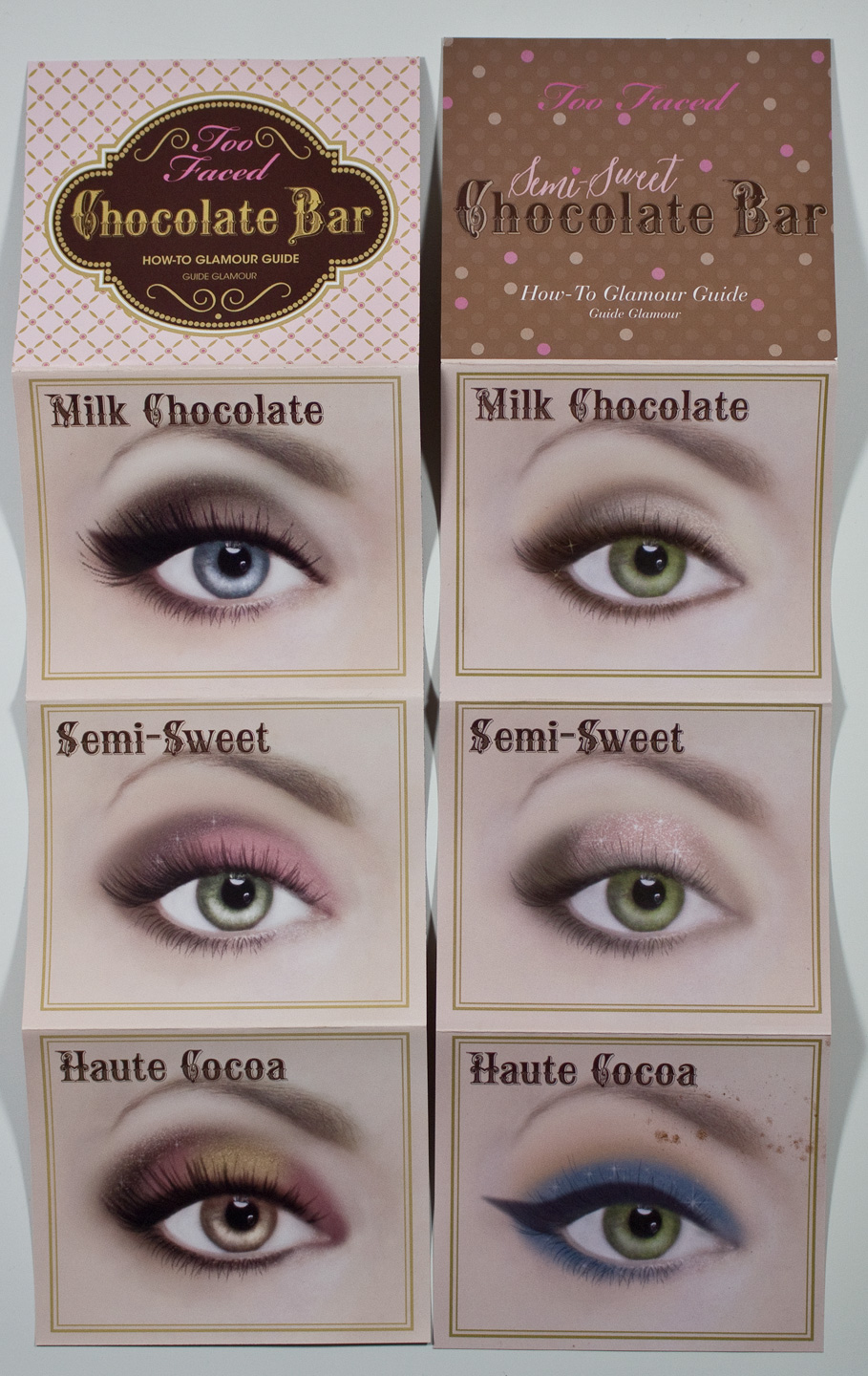 Warpaint and unicorns too faced chocolate bar and semi sweet too faced chocolate bar and semi sweet chocolate bar eyeshadow palette look guides baditri Images