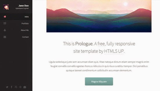 Prologue | HTML5