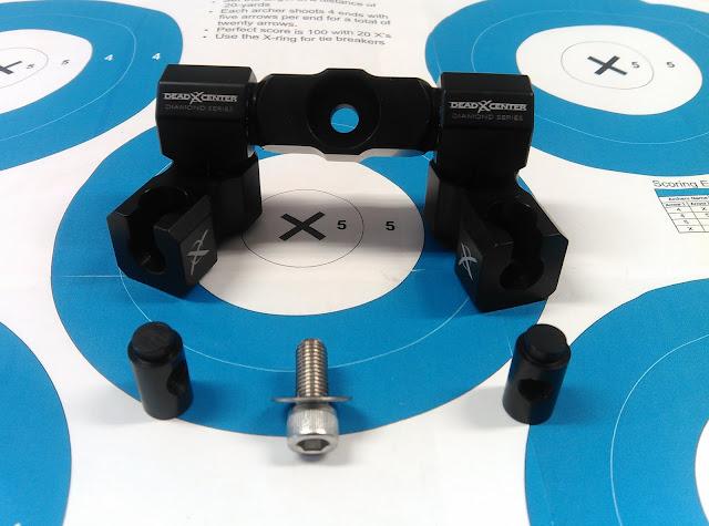 Les Stabilisations Dead Center Archery - La gamme Diamond Series IMG_20160310_161808