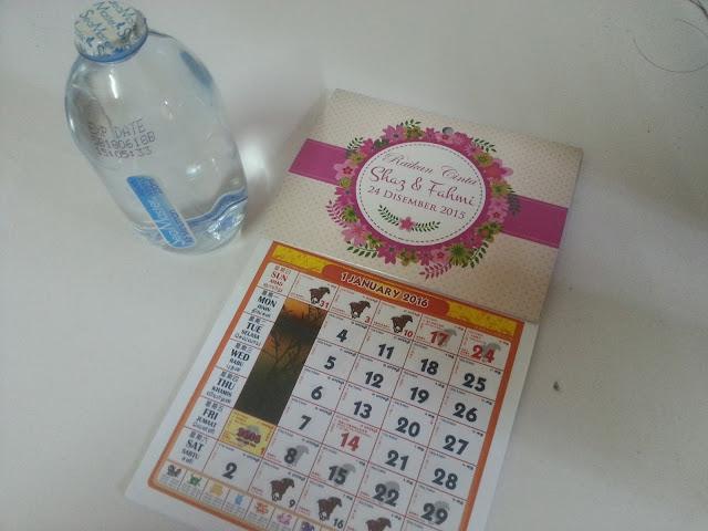 tempah kalendar doorgift