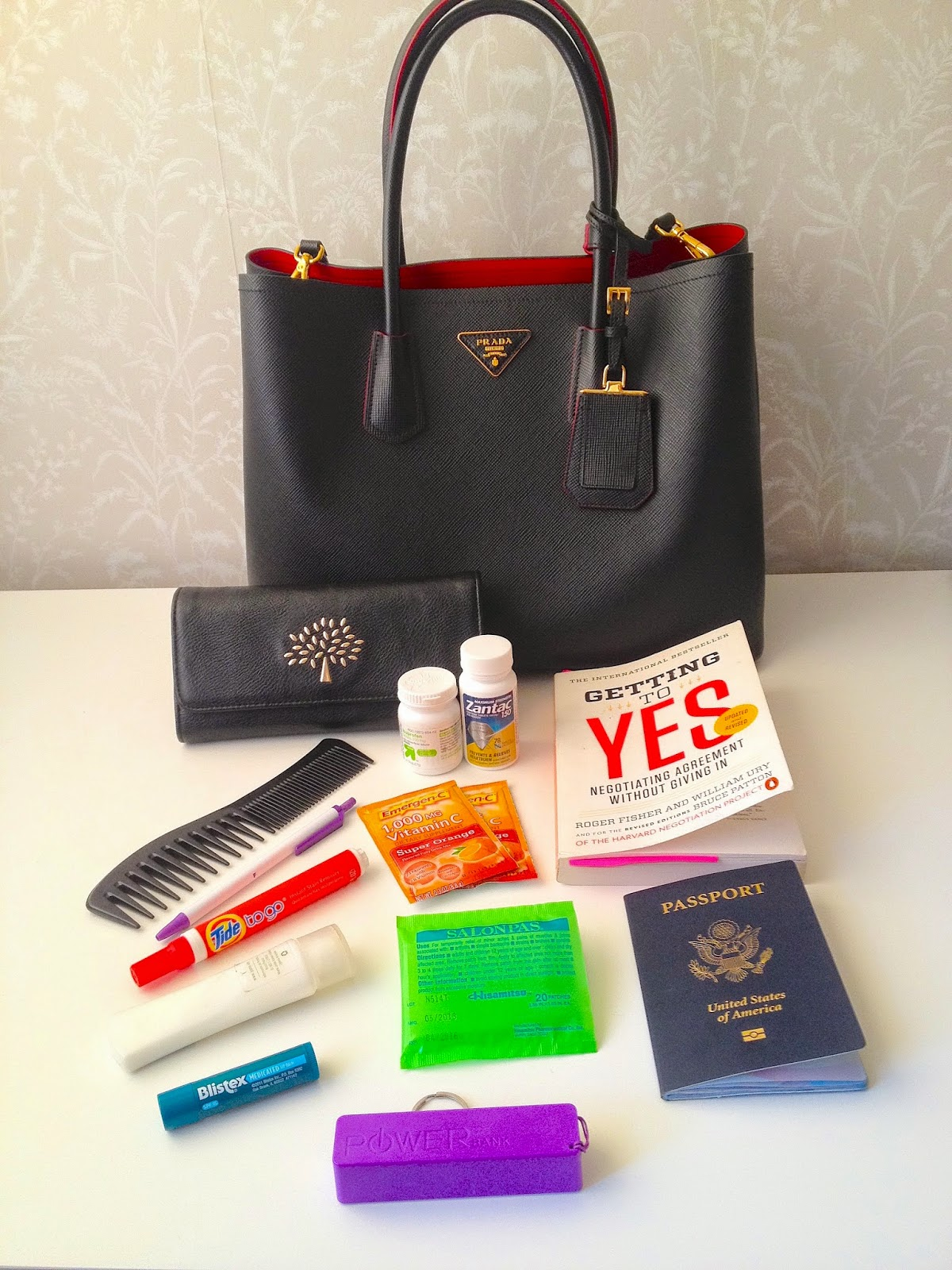 what's in my bag travel edition