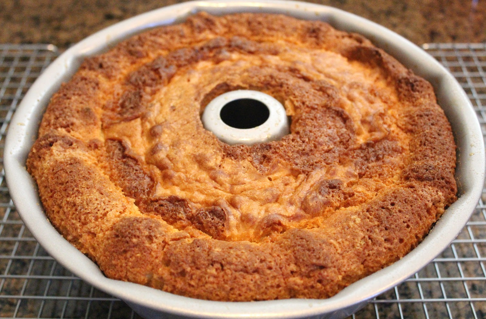... Style Kitchen: Coconut Cream Pound Cake with a Vanilla Cream Glaze
