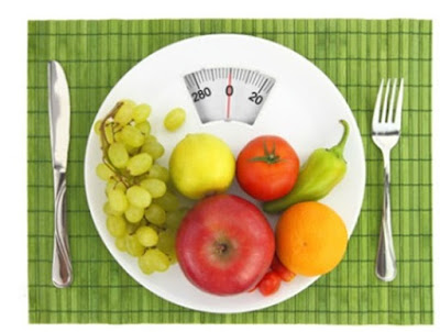 Losing weight by eating healthy foods