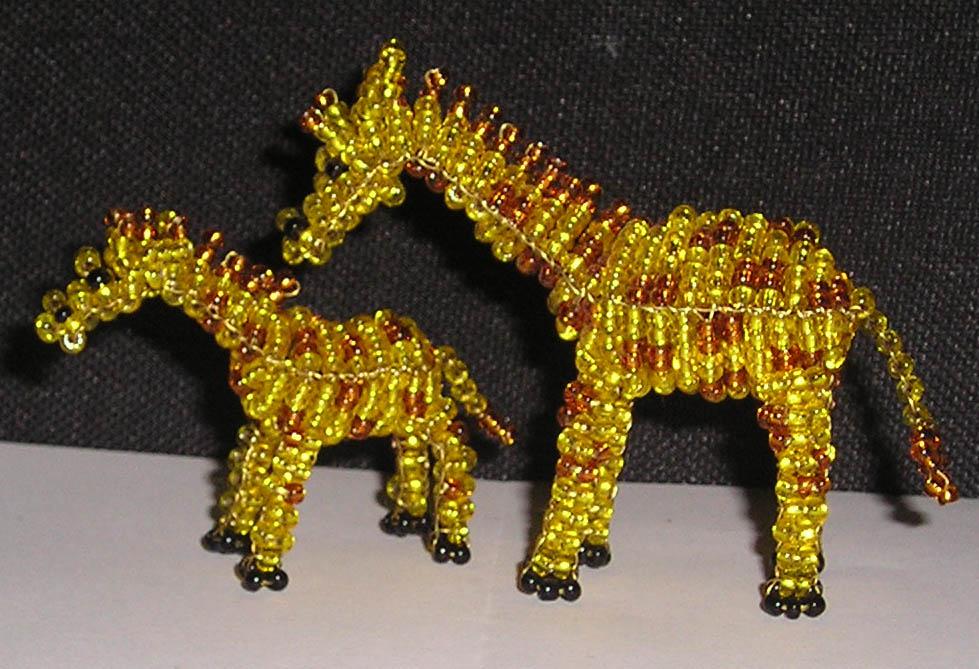 Perlen giraffe anleitung