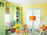 Small Colorful Living Room