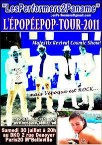L'ÉPOPÉEPOP-TOUR-2011