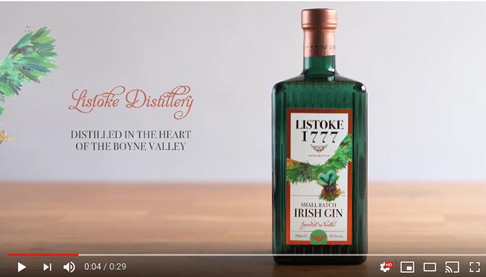 Listoke Gin Branding Video