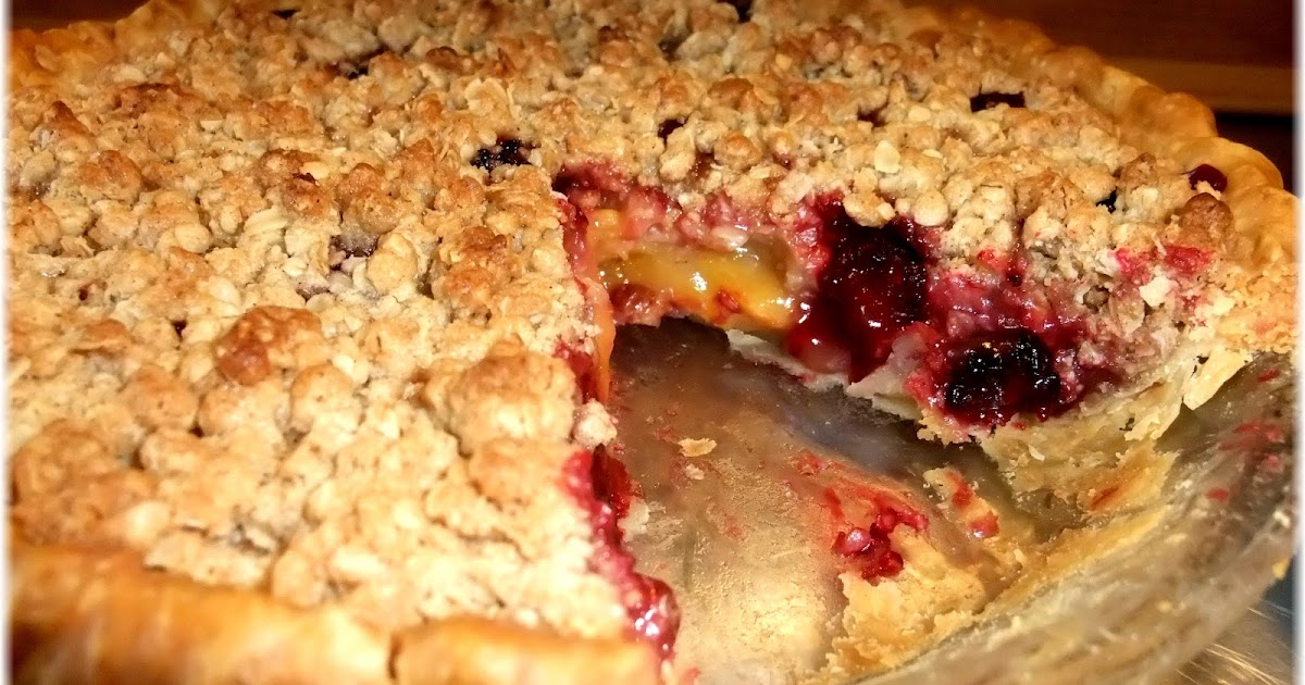 Rosie's Country Baking: Brown Sugar-Cinnamon Nectarine Blackberry Pie