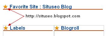 Icon gambar sebelah judul sidebar