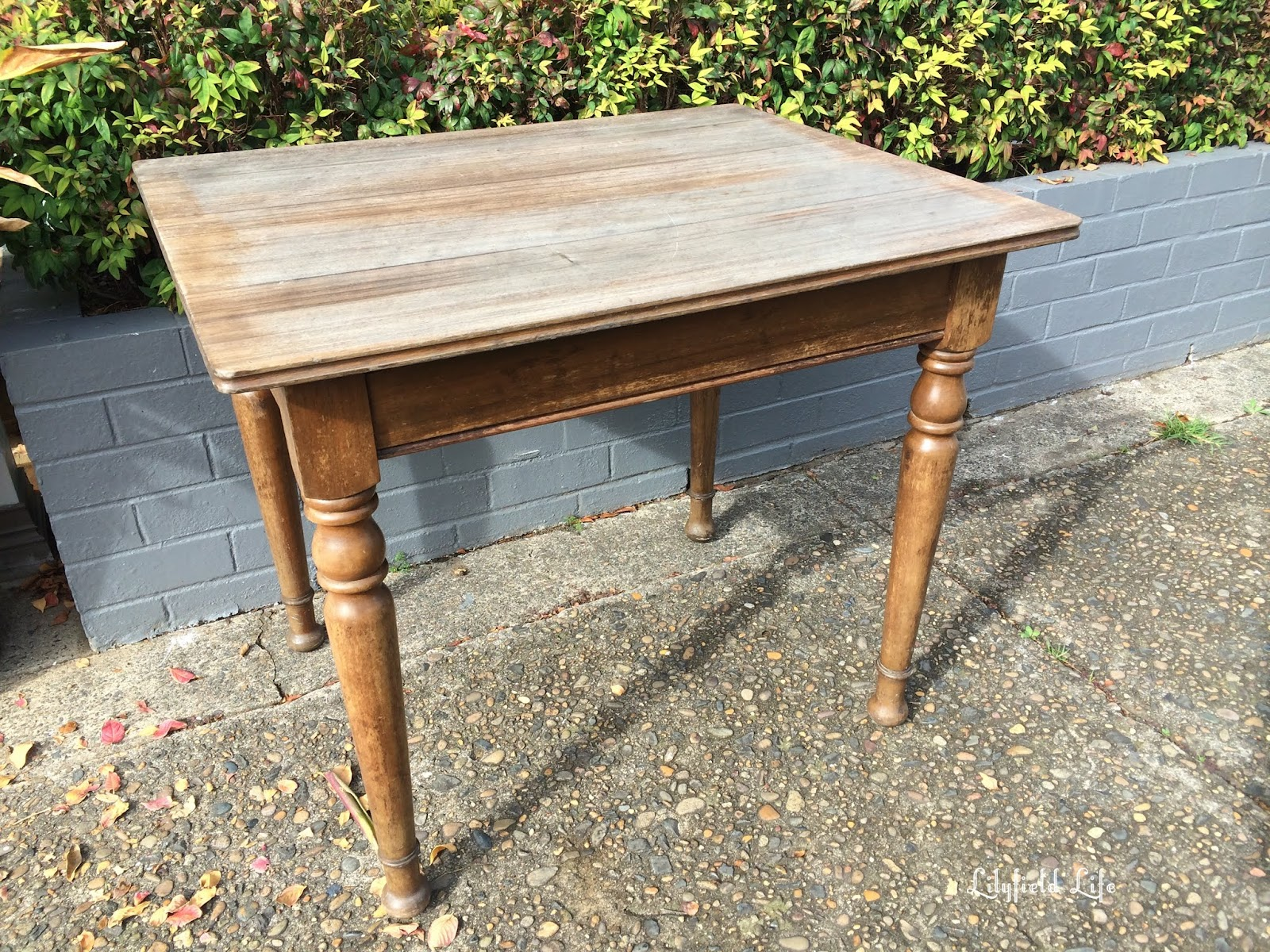This Old Timber Table Was Particularly Dry But Solid And A Lovely Shape. I  Had A Customer Who Had Been Asking For A Small Table To Use As A Craft Table  And ...
