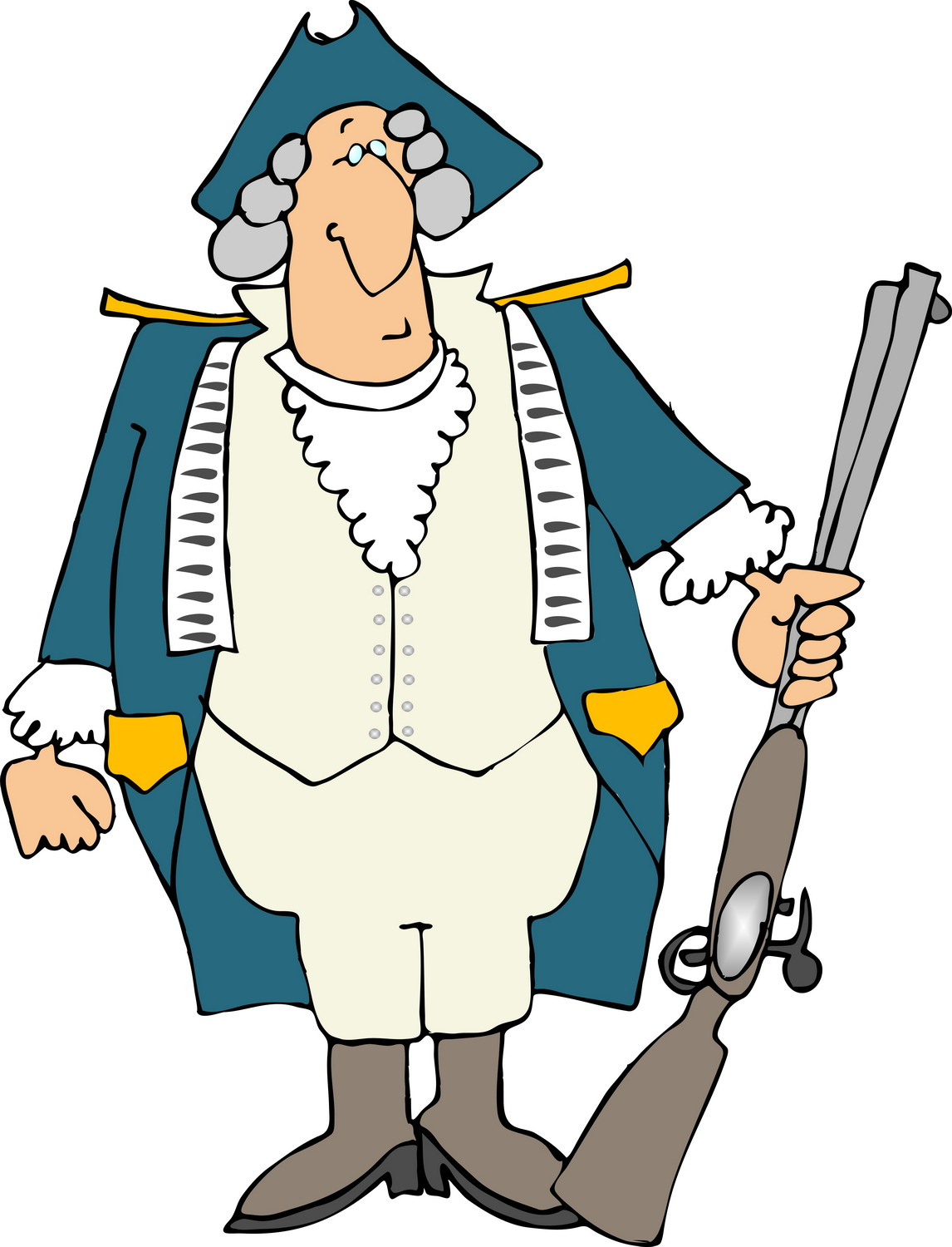 Common Gunsense A blog to advocate for sensible gun ... American Revolution Soldier Clipart