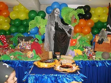 Fiestas Infantiles Decoradas con Piratas del Caribe, parte 1
