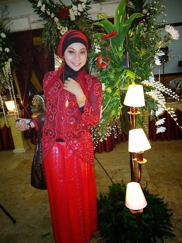 cara hijab kebaya modern