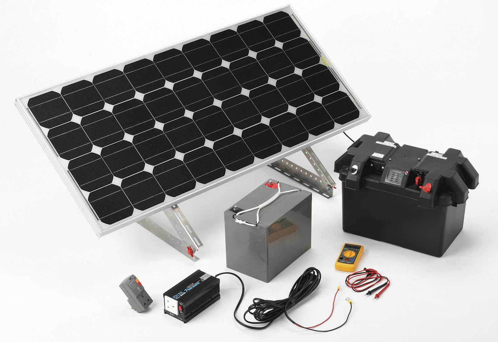 Everblue kit de iluminaci n solar 145w for Kit solar fotovoltaico