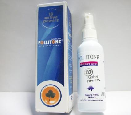 follitone hair care spray