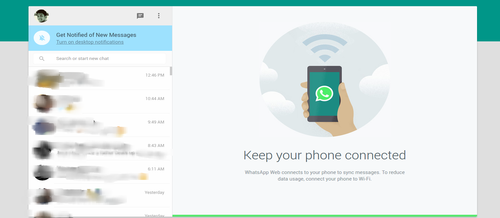 WhatsApp is now on your computer browser!!