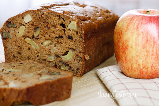 Applesauce Nut Bread | Skinnytaste