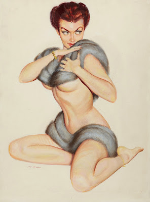Al Moore pin up girl