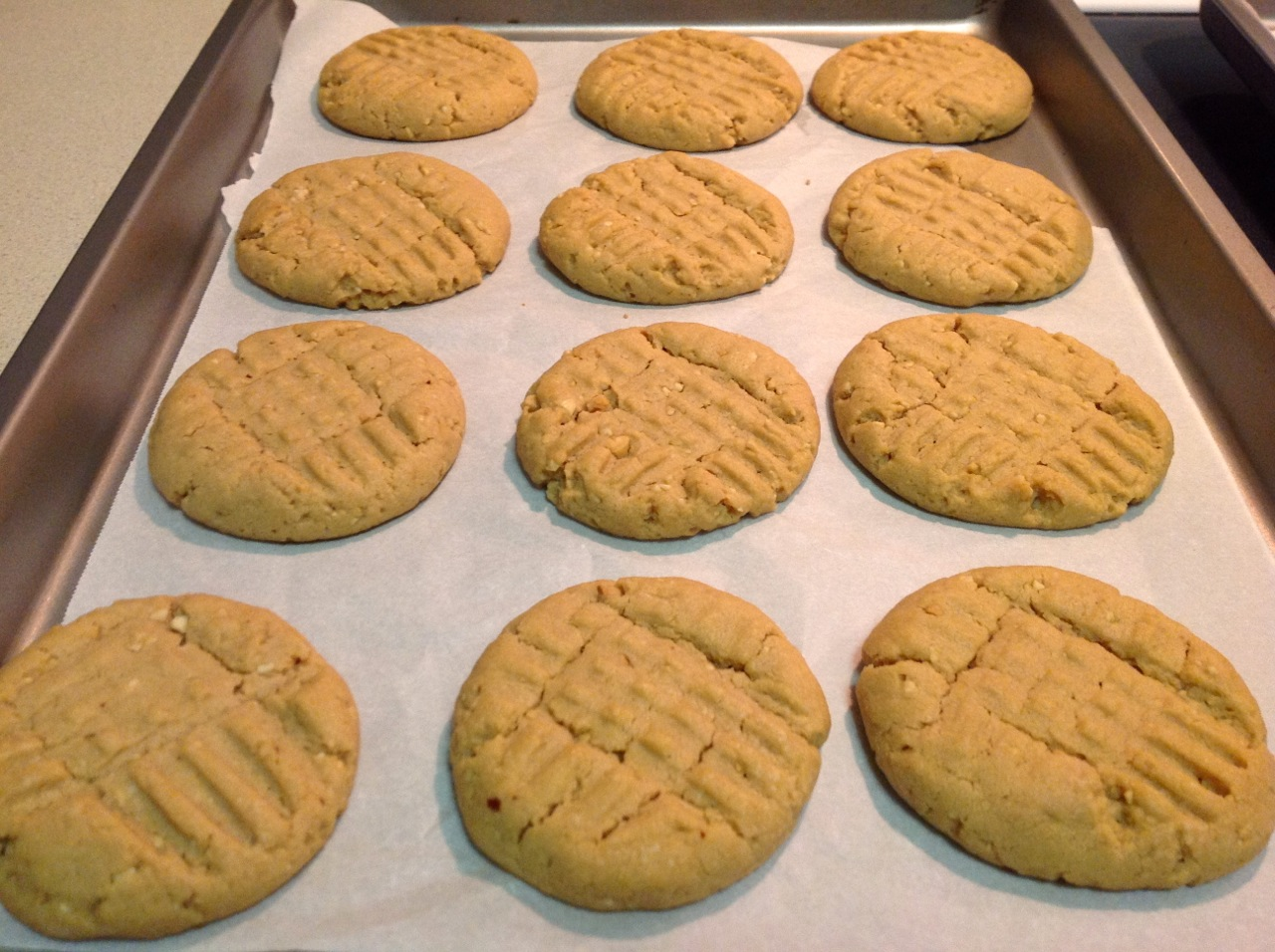 Cook In / Dine Out: Peanut Butter Cookies