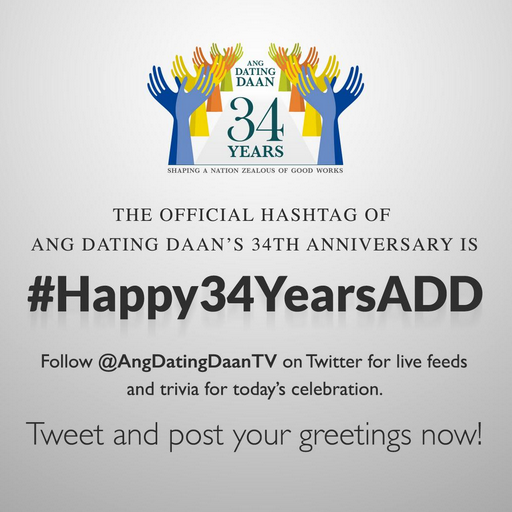 Ang dating daan 33 anniversary sayings
