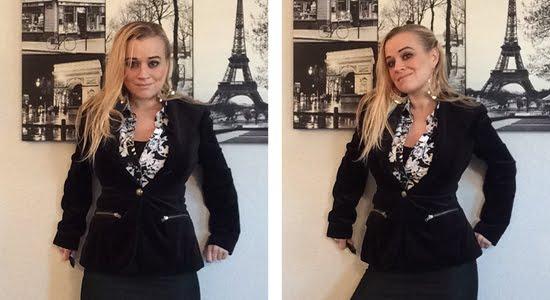 designer velvet jacket