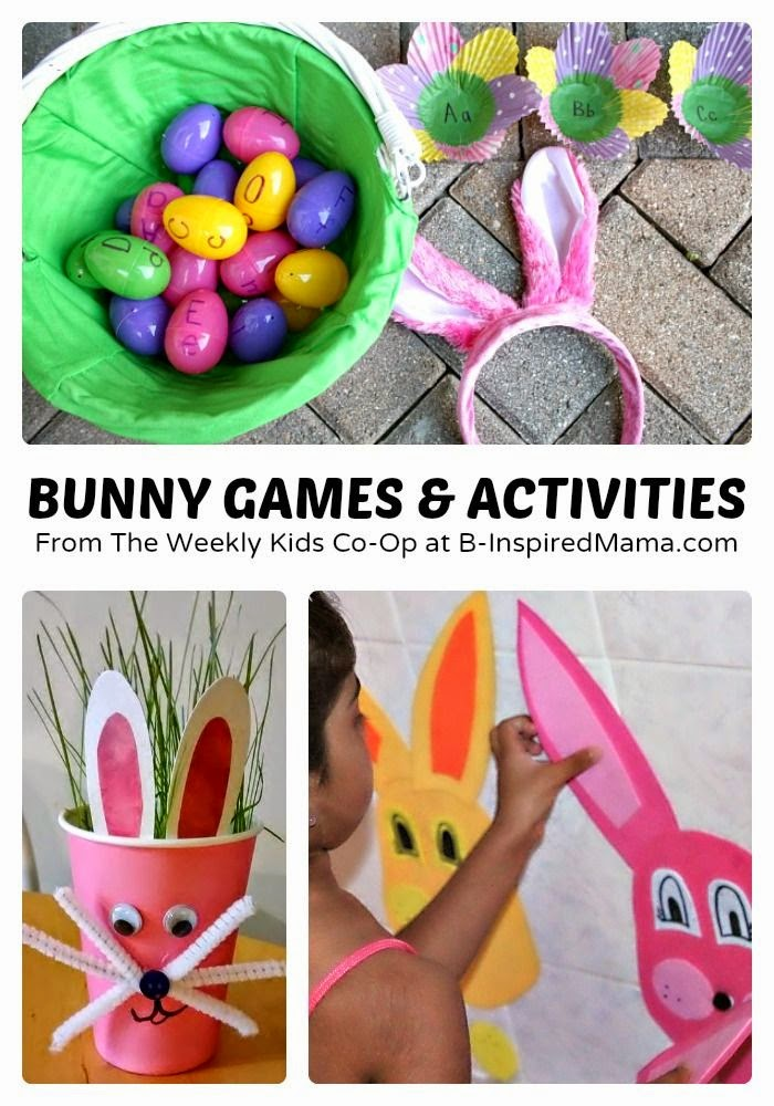 http://b-inspiredmama.com/2014/04/bunny-games-activities-for-kids/