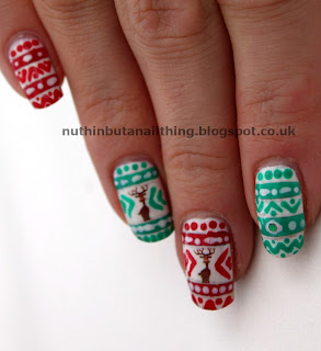 Christmas Jumper nails