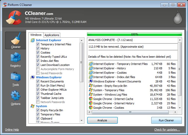 تحميل برنامج سي كلينر لتنظيف وتحسين أداء جهازك إصدار جديد مجاناً CCleaner v4.10.4570