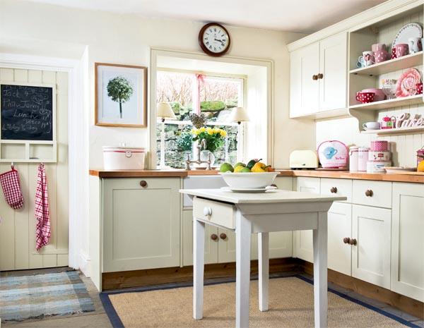 decoracao cozinha fofa : decoracao cozinha fofa:Country Cottage Style Kitchen