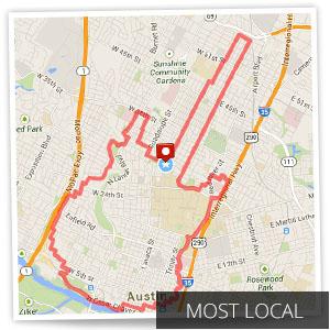GPSで描いた地図