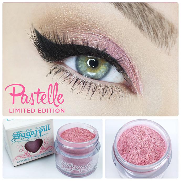 Sugarpill Cosmetics ombres à paupières 2015 Pastelle