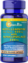 Acetyl L-Carnitine with Alpha Lipoic Acid