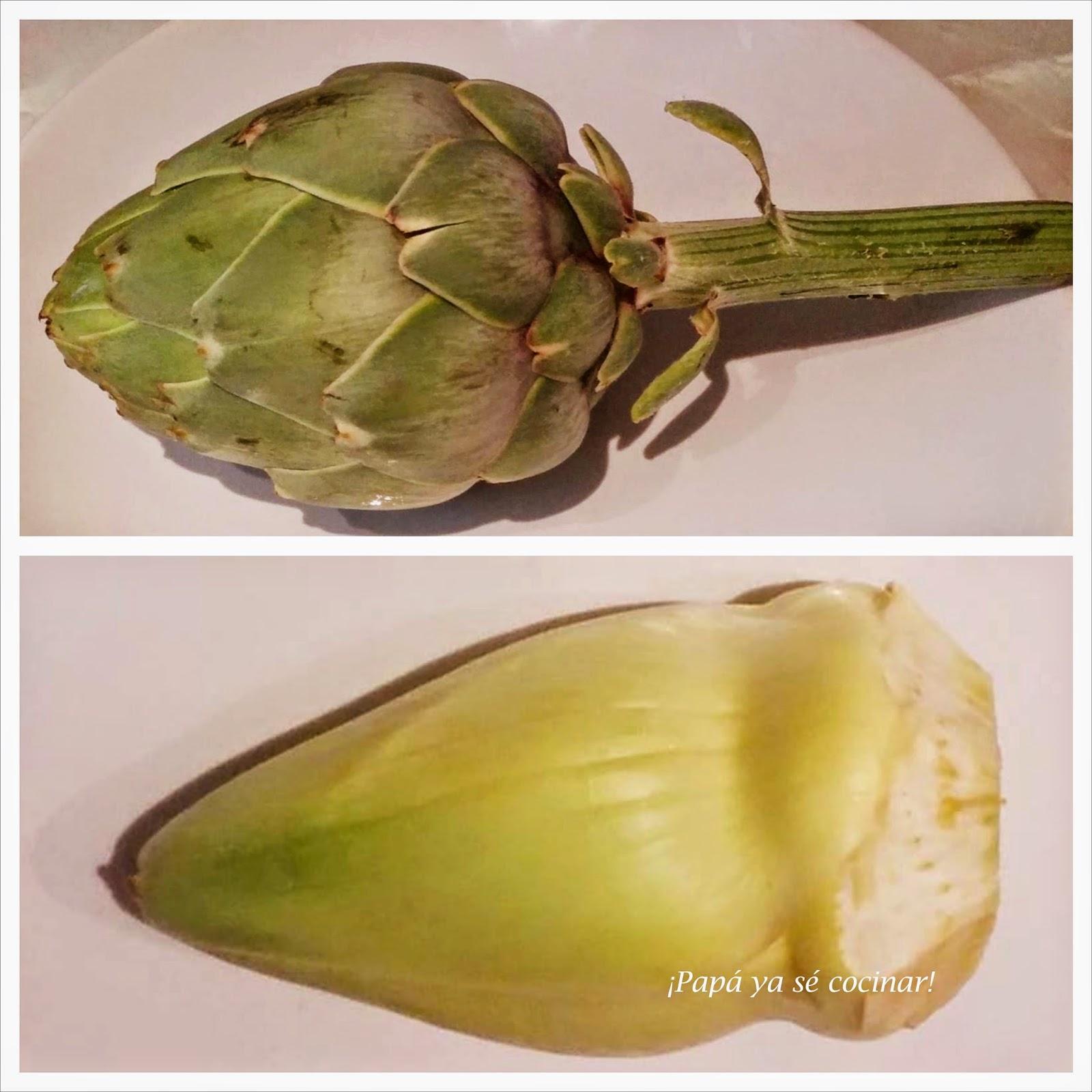 Pap ya s cocinar alcachofas rehogadas con jam n for Cocinar alcachofas