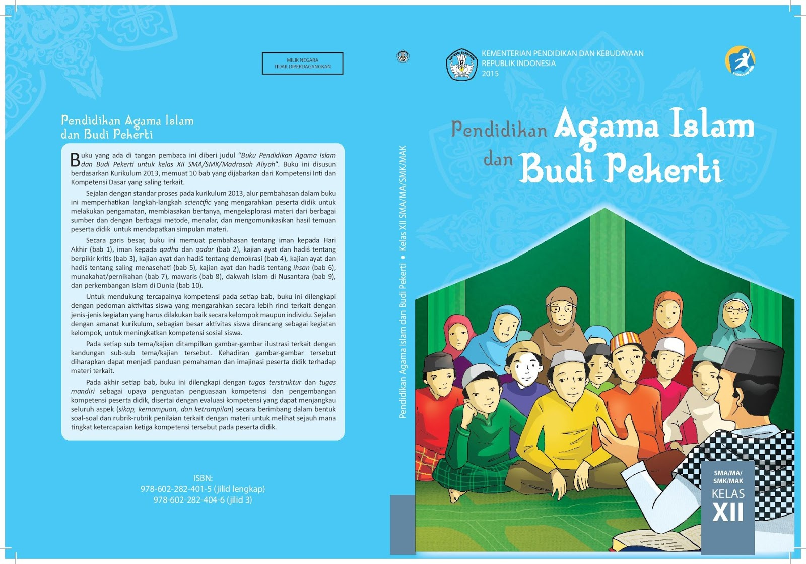 Download Buku Guru Dan Buku Siswa Pendidikan Agama Islam Pai Kelas Xii Kurikulum 2013 Ruang