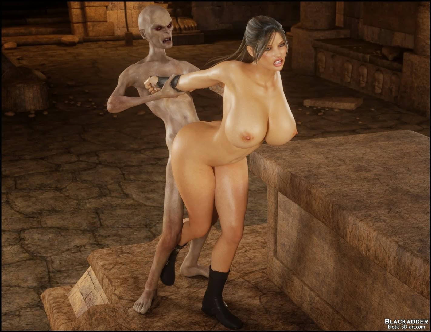 Tomb Raider Sex Comics