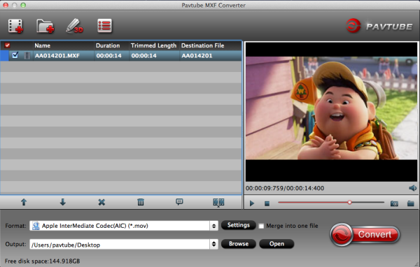 mxf-to-imovie-converter