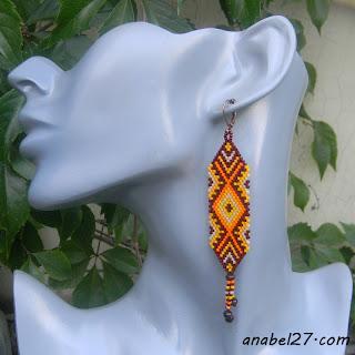 украшения в этническом стиле бисер