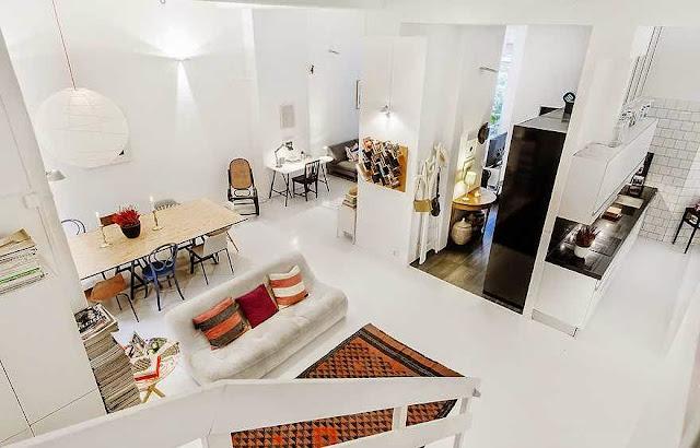 interior rumah minimalis futuristik