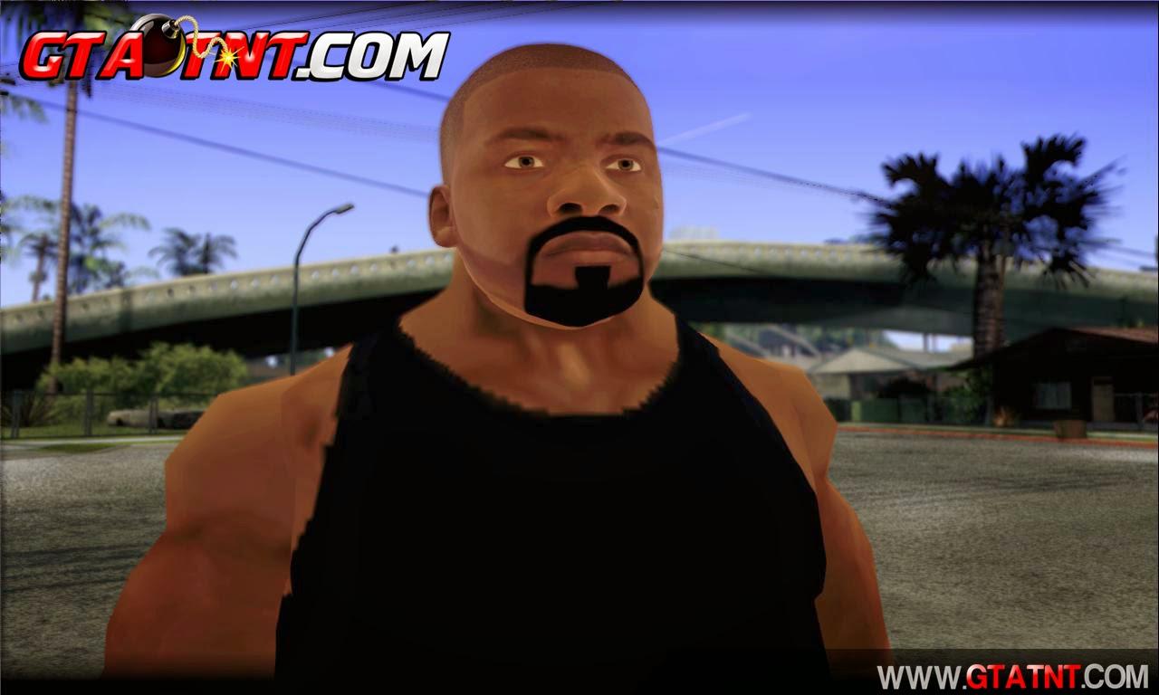 Franklin Mod para GTA San Andreas