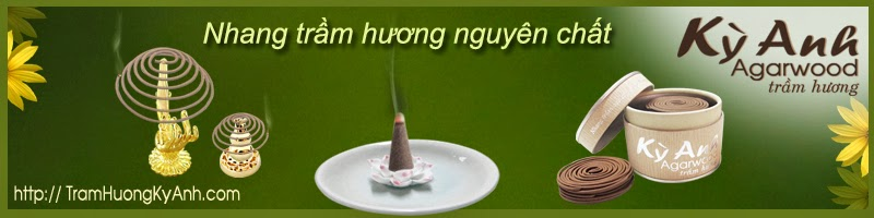 Nhang tram huong Ky Anh nguyen chat cao cap